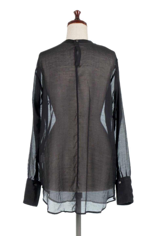 CottonPoplinBosomBlouseポプリン生地・ブザムブラウス大人カジュアルに最適な海外ファッションのothers(その他インポートアイテム)のトップスやシャツ・ブラウス。胸元の切り替えが特徴的な長袖のブザムブラウス。透け感が人気のポプリン素材を使用したのブラウスです。/main-14