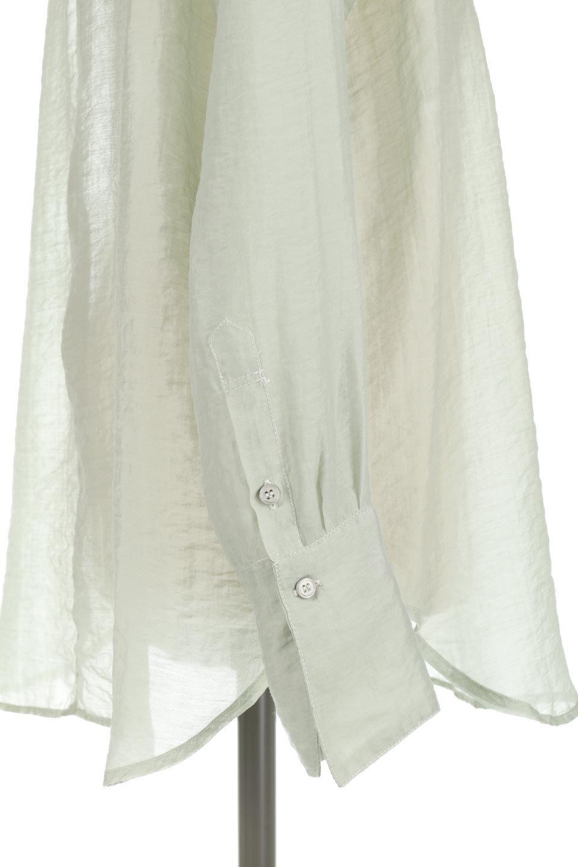 CottonPoplinBosomBlouseポプリン生地・ブザムブラウス大人カジュアルに最適な海外ファッションのothers(その他インポートアイテム)のトップスやシャツ・ブラウス。胸元の切り替えが特徴的な長袖のブザムブラウス。透け感が人気のポプリン素材を使用したのブラウスです。/main-18