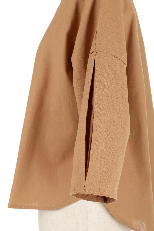 SlitShoulderBlouseスリットショルダー・7分袖ブラウス大人カジュアルに最適な海外ファッションのothers(その他インポートアイテム)のトップスやシャツ・ブラウス。肩のチラ見せがポイントの7分袖ブラウス。スリットとプリーツの袖が可愛い3シーズン活躍するアイテムです。/main-23