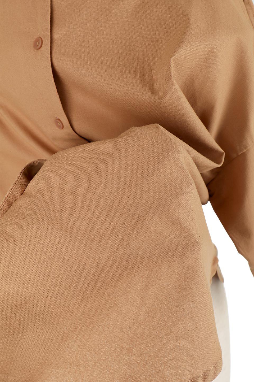 SlitShoulderBlouseスリットショルダー・7分袖ブラウス大人カジュアルに最適な海外ファッションのothers(その他インポートアイテム)のトップスやシャツ・ブラウス。肩のチラ見せがポイントの7分袖ブラウス。スリットとプリーツの袖が可愛い3シーズン活躍するアイテムです。/main-27