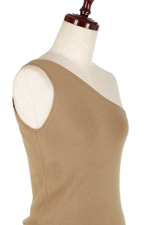 OneShoulderKnitTopワンショルダー・ニットトップス大人カジュアルに最適な海外ファッションのothers(その他インポートアイテム)のトップスやニット・セーター。今季要望の多いワンショルダータイプのトップスが入荷。合わせやすいニット素材でお盆以降も大活躍間違い無しのアイテムです。/main-10