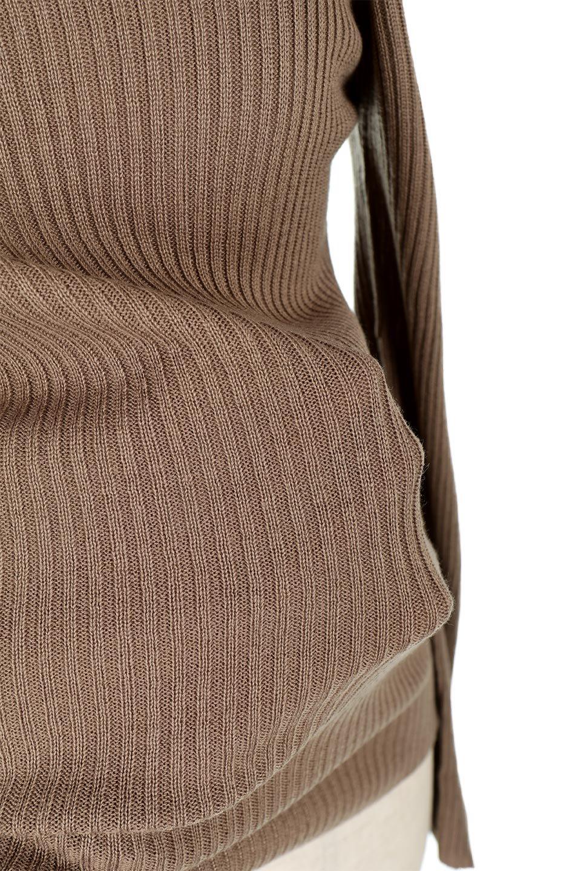 OneShoulderRibKnitTopワンショルダー・リブニットトップス大人カジュアルに最適な海外ファッションのothers(その他インポートアイテム)のトップスやニット・セーター。シンプルデザインのワンショルダートップス。シーズン前に必ず欲しい、応用力抜群のトップスです。/main-15