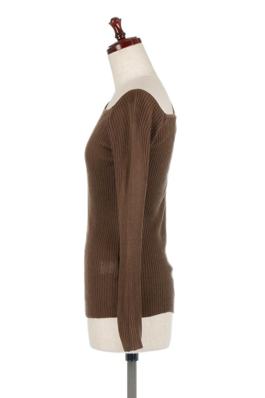 OneShoulderRibKnitTopワンショルダー・リブニットトップス大人カジュアルに最適な海外ファッションのothers(その他インポートアイテム)のトップスやニット・セーター。シンプルデザインのワンショルダートップス。シーズン前に必ず欲しい、応用力抜群のトップスです。/main-7