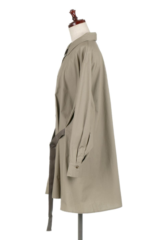 WaistTiedA-LineShirtsJacketベルト付き・ロングシャツジャケット大人カジュアルに最適な海外ファッションのothers(その他インポートアイテム)のトップスやシャツ・ブラウス。ウエストのリボンベルトがアクセントのシャツジャケット。綺麗なAラインが特徴で、コート風にも着こなせる便利アイテム。/main-12