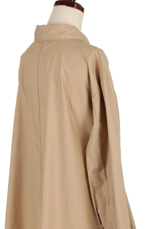 WaistTiedA-LineShirtsJacketベルト付き・ロングシャツジャケット大人カジュアルに最適な海外ファッションのothers(その他インポートアイテム)のトップスやシャツ・ブラウス。ウエストのリボンベルトがアクセントのシャツジャケット。綺麗なAラインが特徴で、コート風にも着こなせる便利アイテム。/main-16