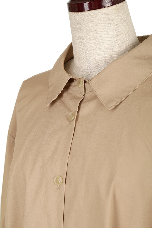 WaistTiedA-LineShirtsJacketベルト付き・ロングシャツジャケット大人カジュアルに最適な海外ファッションのothers(その他インポートアイテム)のトップスやシャツ・ブラウス。ウエストのリボンベルトがアクセントのシャツジャケット。綺麗なAラインが特徴で、コート風にも着こなせる便利アイテム。/main-17