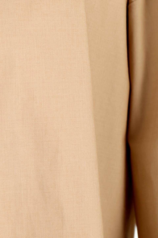 WaistTiedA-LineShirtsJacketベルト付き・ロングシャツジャケット大人カジュアルに最適な海外ファッションのothers(その他インポートアイテム)のトップスやシャツ・ブラウス。ウエストのリボンベルトがアクセントのシャツジャケット。綺麗なAラインが特徴で、コート風にも着こなせる便利アイテム。/main-21