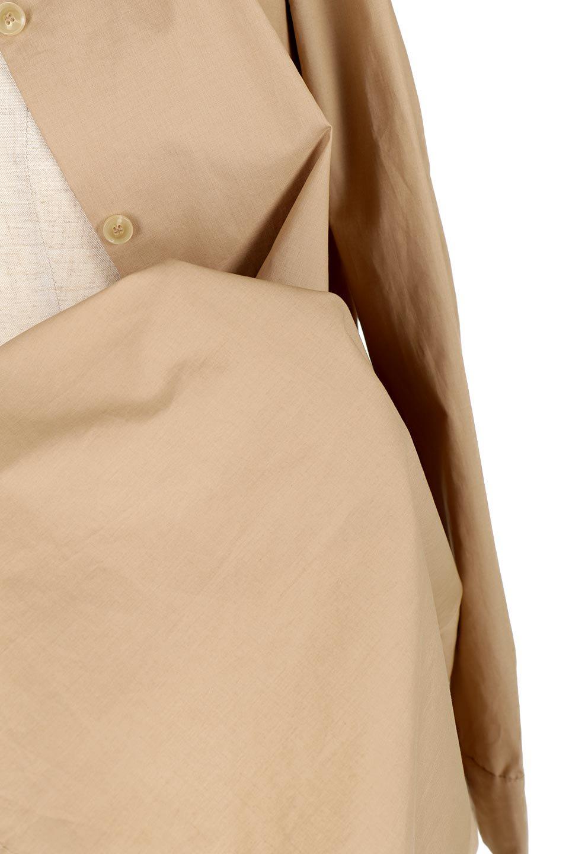 WaistTiedA-LineShirtsJacketベルト付き・ロングシャツジャケット大人カジュアルに最適な海外ファッションのothers(その他インポートアイテム)のトップスやシャツ・ブラウス。ウエストのリボンベルトがアクセントのシャツジャケット。綺麗なAラインが特徴で、コート風にも着こなせる便利アイテム。/main-22