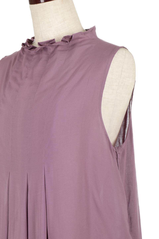 SleevelessPeplumBlouseノースリーブ・ペプラムブラウス大人カジュアルに最適な海外ファッションのothers(その他インポートアイテム)のワンピースやマキシワンピース。ペプラムシルエットが美しいノースリーブブラウス。ボトムを選ばないデザインで着回しやすさ抜群のブラウス。/main-16