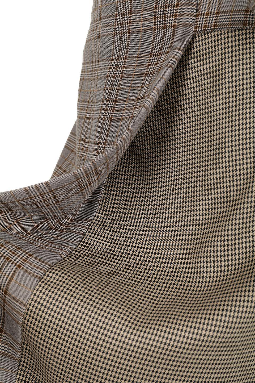 GlenCheckPaneledSkirtグレンチェック・切り替えスカート大人カジュアルに最適な海外ファッションのothers(その他インポートアイテム)のボトムやスカート。グレンチェックの切り替えが可愛いミディ丈スカート。2種類のチェックのコンビネーションで秋冬のコーディネートを楽しくしてくれます。/main-16