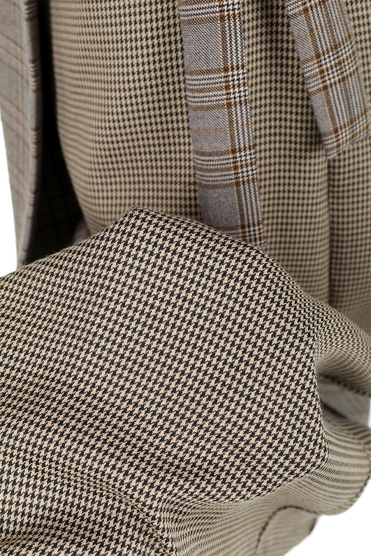 GlenCheckPaneledSkirtグレンチェック・切り替えスカート大人カジュアルに最適な海外ファッションのothers(その他インポートアイテム)のボトムやスカート。グレンチェックの切り替えが可愛いミディ丈スカート。2種類のチェックのコンビネーションで秋冬のコーディネートを楽しくしてくれます。/main-17