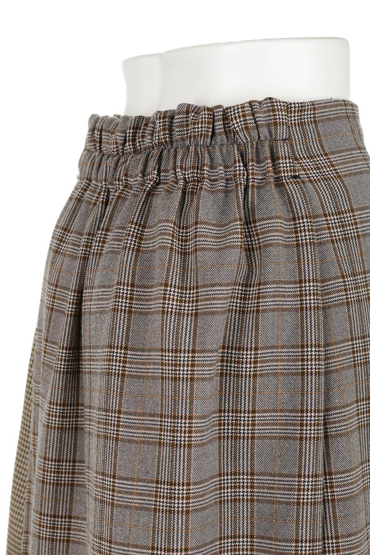 GlenCheckPaneledSkirtグレンチェック・切り替えスカート大人カジュアルに最適な海外ファッションのothers(その他インポートアイテム)のボトムやスカート。グレンチェックの切り替えが可愛いミディ丈スカート。2種類のチェックのコンビネーションで秋冬のコーディネートを楽しくしてくれます。/main-20