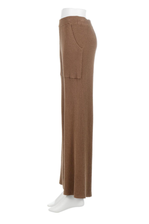 WideLegWafflePantsワッフル地・ワイドパンツ大人カジュアルに最適な海外ファッションのothers(その他インポートアイテム)のボトムやパンツ。ざっくり素材のワッフル地が最高に気持ち良いワイドパンツ。これ、すでに店頭では大人気の商品です。/main-17