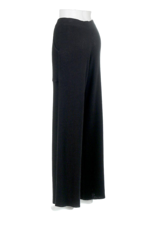 WideLegWafflePantsワッフル地・ワイドパンツ大人カジュアルに最適な海外ファッションのothers(その他インポートアイテム)のボトムやパンツ。ざっくり素材のワッフル地が最高に気持ち良いワイドパンツ。これ、すでに店頭では大人気の商品です。/main-23