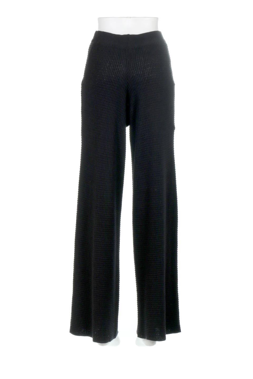 WideLegWafflePantsワッフル地・ワイドパンツ大人カジュアルに最適な海外ファッションのothers(その他インポートアイテム)のボトムやパンツ。ざっくり素材のワッフル地が最高に気持ち良いワイドパンツ。これ、すでに店頭では大人気の商品です。/main-24