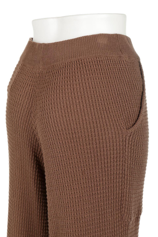 WideLegWafflePantsワッフル地・ワイドパンツ大人カジュアルに最適な海外ファッションのothers(その他インポートアイテム)のボトムやパンツ。ざっくり素材のワッフル地が最高に気持ち良いワイドパンツ。これ、すでに店頭では大人気の商品です。/main-26
