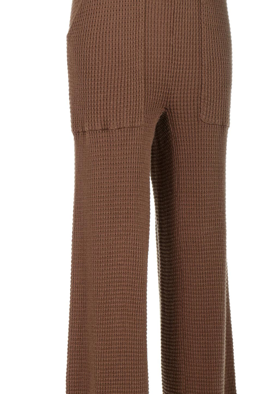 WideLegWafflePantsワッフル地・ワイドパンツ大人カジュアルに最適な海外ファッションのothers(その他インポートアイテム)のボトムやパンツ。ざっくり素材のワッフル地が最高に気持ち良いワイドパンツ。これ、すでに店頭では大人気の商品です。/main-29