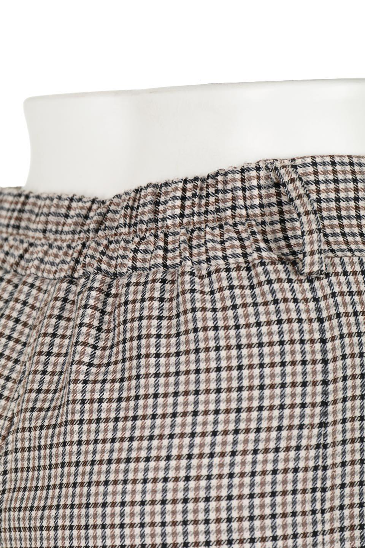 DeepPleatedWidePantsガンクラブチェック・ディーププリーツパンツ大人カジュアルに最適な海外ファッションのothers(その他インポートアイテム)のボトムやパンツ。ガンクラブチェックの柄と深めのプリーツがトラッドな印象のワイドパンツ。裾にかけて広がるデザインで脚長効果もあるアイテムです。/main-12
