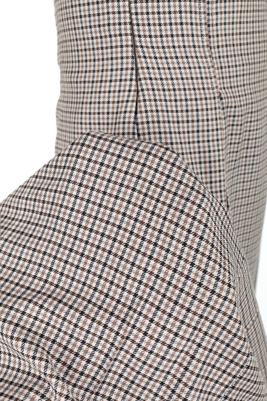 DeepPleatedWidePantsガンクラブチェック・ディーププリーツパンツ大人カジュアルに最適な海外ファッションのothers(その他インポートアイテム)のボトムやパンツ。ガンクラブチェックの柄と深めのプリーツがトラッドな印象のワイドパンツ。裾にかけて広がるデザインで脚長効果もあるアイテムです。/main-15