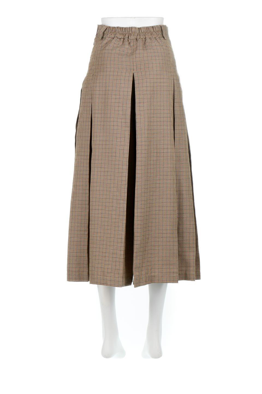 DeepPleatedWidePantsガンクラブチェック・ディーププリーツパンツ大人カジュアルに最適な海外ファッションのothers(その他インポートアイテム)のボトムやパンツ。ガンクラブチェックの柄と深めのプリーツがトラッドな印象のワイドパンツ。裾にかけて広がるデザインで脚長効果もあるアイテムです。/main-9