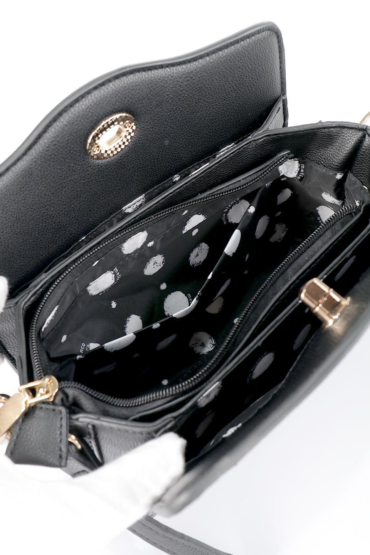 meliebiancoのMiley(Black)キルティングステッチ・ショルダーバッグ/海外ファッション好きにオススメのインポートバッグとかばん、MelieBianco(メリービアンコ)のバッグやハンドバッグ。上品なキルティングステッチが可愛いショルダーバッグ。しっかりとした芯入りのビーガンレザーで型崩れの心配はナシ。/main-11