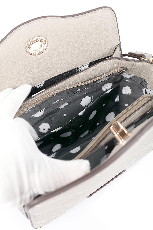meliebiancoのMiley(Taupe)キルティングステッチ・ショルダーバッグ/海外ファッション好きにオススメのインポートバッグとかばん、MelieBianco(メリービアンコ)のバッグやハンドバッグ。上品なキルティングステッチが可愛いショルダーバッグ。しっかりとした芯入りのビーガンレザーで型崩れの心配はナシ。/main-13