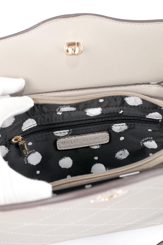 meliebiancoのMiley(Taupe)キルティングステッチ・ショルダーバッグ/海外ファッション好きにオススメのインポートバッグとかばん、MelieBianco(メリービアンコ)のバッグやハンドバッグ。上品なキルティングステッチが可愛いショルダーバッグ。しっかりとした芯入りのビーガンレザーで型崩れの心配はナシ。/main-14