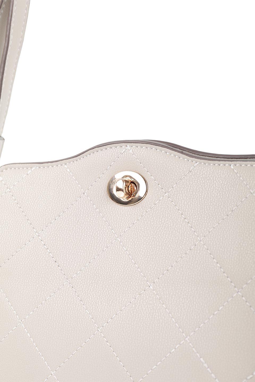 meliebiancoのMiley(Taupe)キルティングステッチ・ショルダーバッグ/海外ファッション好きにオススメのインポートバッグとかばん、MelieBianco(メリービアンコ)のバッグやハンドバッグ。上品なキルティングステッチが可愛いショルダーバッグ。しっかりとした芯入りのビーガンレザーで型崩れの心配はナシ。/main-7