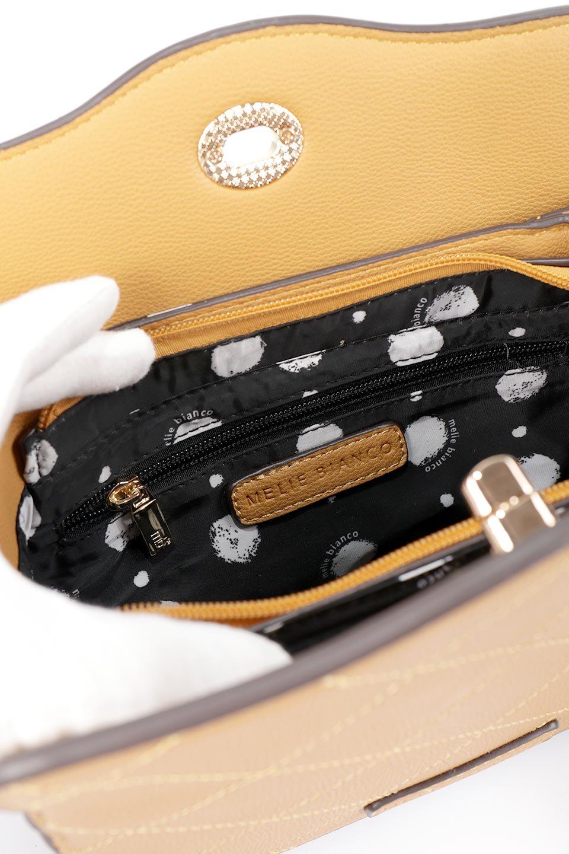 meliebiancoのMiley(Mustard)キルティングステッチ・ショルダーバッグ/海外ファッション好きにオススメのインポートバッグとかばん、MelieBianco(メリービアンコ)のバッグやショルダーバッグ。上品なキルティングステッチが可愛いショルダーバッグ。しっかりとした芯入りのビーガンレザーで型崩れの心配はナシ。/main-10