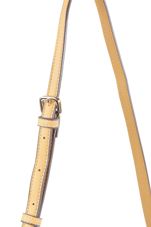 meliebiancoのMiley(Mustard)キルティングステッチ・ショルダーバッグ/海外ファッション好きにオススメのインポートバッグとかばん、MelieBianco(メリービアンコ)のバッグやショルダーバッグ。上品なキルティングステッチが可愛いショルダーバッグ。しっかりとした芯入りのビーガンレザーで型崩れの心配はナシ。/main-5