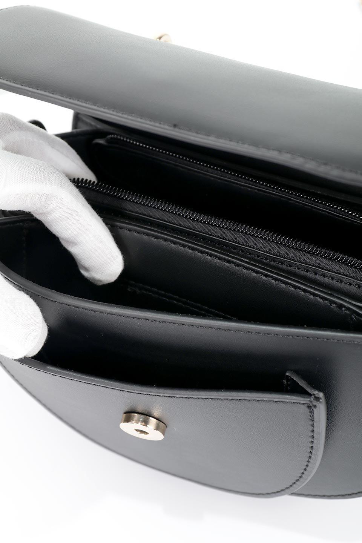 meliebiancoのIsabel(Black)ワンハンドル・2Wayミニバッグ/海外ファッション好きにオススメのインポートバッグとかばん、MelieBianco(メリービアンコ)のバッグやショルダーバッグ。ゴールドのメタルハンドルがアクセントのミニハンドバッグ。丸みを帯びたラウンドタイプはメリービアンコの本国アメリカはもちろんヨーロッパでも人気のシルエット。/main-13