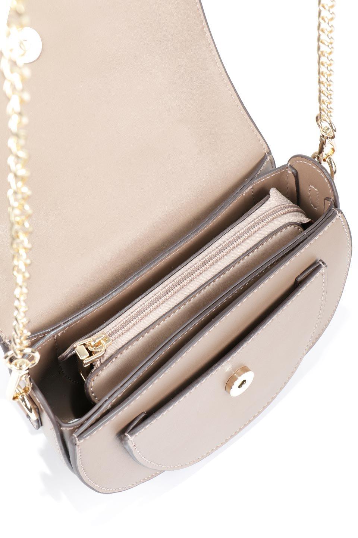 meliebiancoのIsabel(Taupe)ワンハンドル・2Wayミニバッグ/海外ファッション好きにオススメのインポートバッグとかばん、MelieBianco(メリービアンコ)のバッグやショルダーバッグ。ゴールドのメタルハンドルがアクセントのミニハンドバッグ。丸みを帯びたラウンドタイプはメリービアンコの本国アメリカはもちろんヨーロッパでも人気のシルエット。/main-12