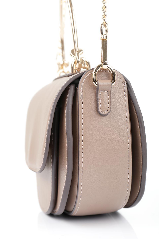meliebiancoのIsabel(Taupe)ワンハンドル・2Wayミニバッグ/海外ファッション好きにオススメのインポートバッグとかばん、MelieBianco(メリービアンコ)のバッグやショルダーバッグ。ゴールドのメタルハンドルがアクセントのミニハンドバッグ。丸みを帯びたラウンドタイプはメリービアンコの本国アメリカはもちろんヨーロッパでも人気のシルエット。/main-7