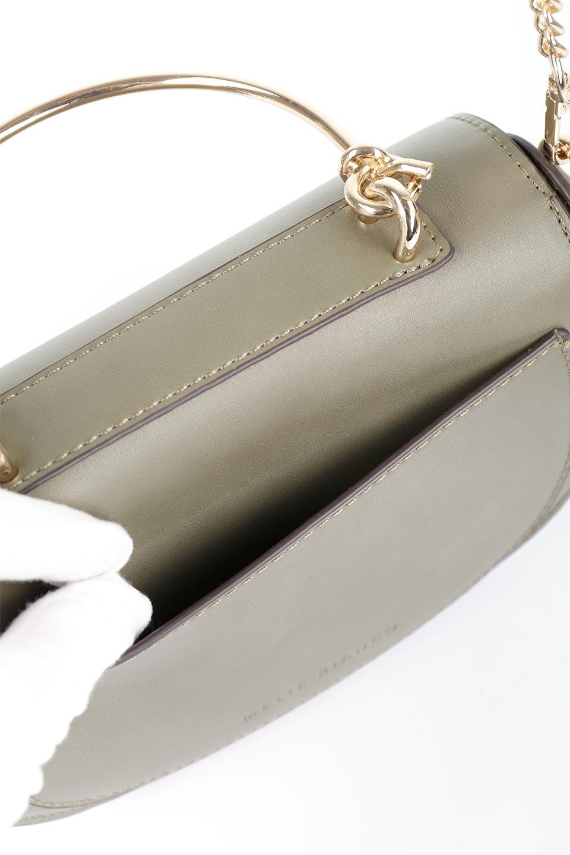 meliebiancoのIsabel(Olive)ワンハンドル・2Wayミニバッグ/海外ファッション好きにオススメのインポートバッグとかばん、MelieBianco(メリービアンコ)のバッグやショルダーバッグ。ゴールドのメタルハンドルがアクセントのミニハンドバッグ。丸みを帯びたラウンドタイプはメリービアンコの本国アメリカはもちろんヨーロッパでも人気のシルエット。/main-10