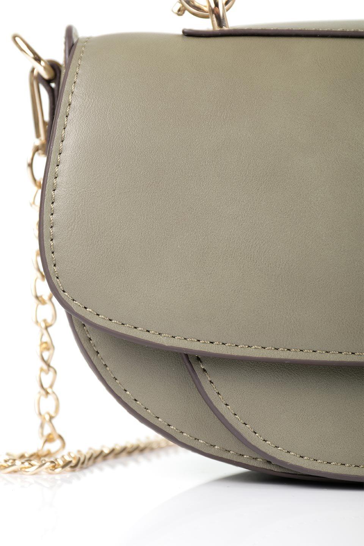 meliebiancoのIsabel(Olive)ワンハンドル・2Wayミニバッグ/海外ファッション好きにオススメのインポートバッグとかばん、MelieBianco(メリービアンコ)のバッグやショルダーバッグ。ゴールドのメタルハンドルがアクセントのミニハンドバッグ。丸みを帯びたラウンドタイプはメリービアンコの本国アメリカはもちろんヨーロッパでも人気のシルエット。/main-7