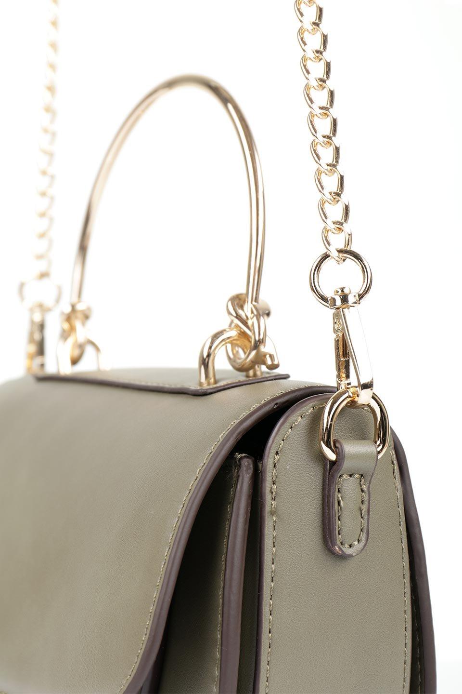 meliebiancoのIsabel(Olive)ワンハンドル・2Wayミニバッグ/海外ファッション好きにオススメのインポートバッグとかばん、MelieBianco(メリービアンコ)のバッグやショルダーバッグ。ゴールドのメタルハンドルがアクセントのミニハンドバッグ。丸みを帯びたラウンドタイプはメリービアンコの本国アメリカはもちろんヨーロッパでも人気のシルエット。/main-9