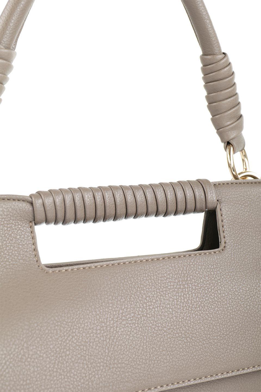 meliebiancoのBlair(Taupe)ワンハンドル・ハンドバッグ/海外ファッション好きにオススメのインポートバッグとかばん、MelieBianco(メリービアンコ)のバッグやハンドバッグ。スクエアなシルエットがシャープな印象のハンドバッグ。普段使いはもちろん、仕事でもつかえるシンプルデザインです。/main-6