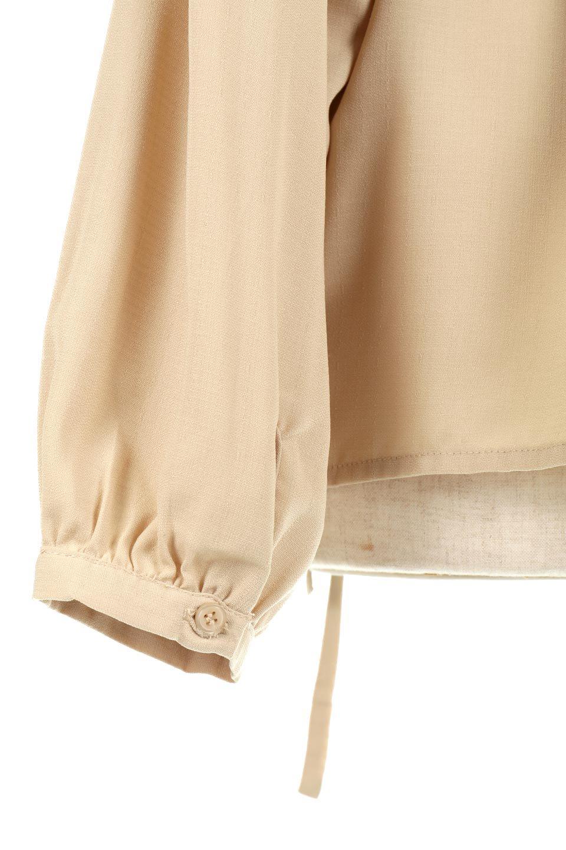 WaistTiedShirtsBlouseウエストマーク・シャツブラウス大人カジュアルに最適な海外ファッションのothers(その他インポートアイテム)のトップスやシャツ・ブラウス。シャツとブラウスのいいとこ取りの長袖アイテム。シャツジャケットのように着ても良し、ボトムにインしてブラウス感覚で着ても良し。/main-27