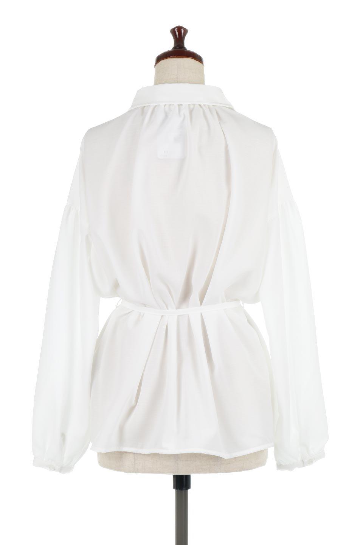 WaistTiedShirtsBlouseウエストマーク・シャツブラウス大人カジュアルに最適な海外ファッションのothers(その他インポートアイテム)のトップスやシャツ・ブラウス。シャツとブラウスのいいとこ取りの長袖アイテム。シャツジャケットのように着ても良し、ボトムにインしてブラウス感覚で着ても良し。/main-9
