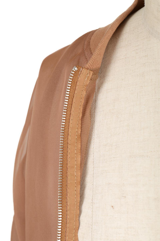 SheerShortBlousonチュール・MA−1ブルゾン大人カジュアルに最適な海外ファッションのothers(その他インポートアイテム)のアウターやジャケット。ほんのり透け感が楽しめるMA-1タイプのブルゾン。充分にゆとりを持たせた袖が透け感を演出します。/main-15