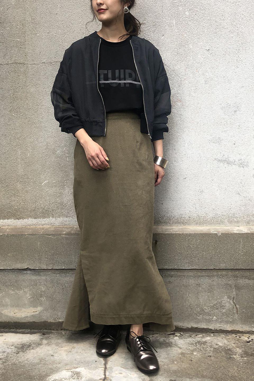 SheerShortBlousonチュール・MA−1ブルゾン大人カジュアルに最適な海外ファッションのothers(その他インポートアイテム)のアウターやジャケット。ほんのり透け感が楽しめるMA-1タイプのブルゾン。充分にゆとりを持たせた袖が透け感を演出します。/main-21