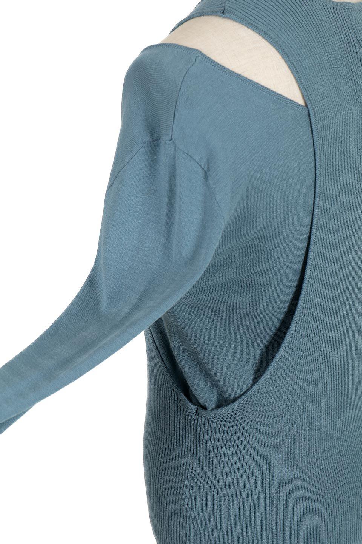 AsymmetricalKnitTopアシメントリー・肩スリットニット大人カジュアルに最適な海外ファッションのothers(その他インポートアイテム)のトップスやニット・セーター。2種類のニットをアシメントリーにデザインしたニットトップス。アシメデザイン特有の着心地の悪さもなく、考え抜かれたシルエットです。/main-19