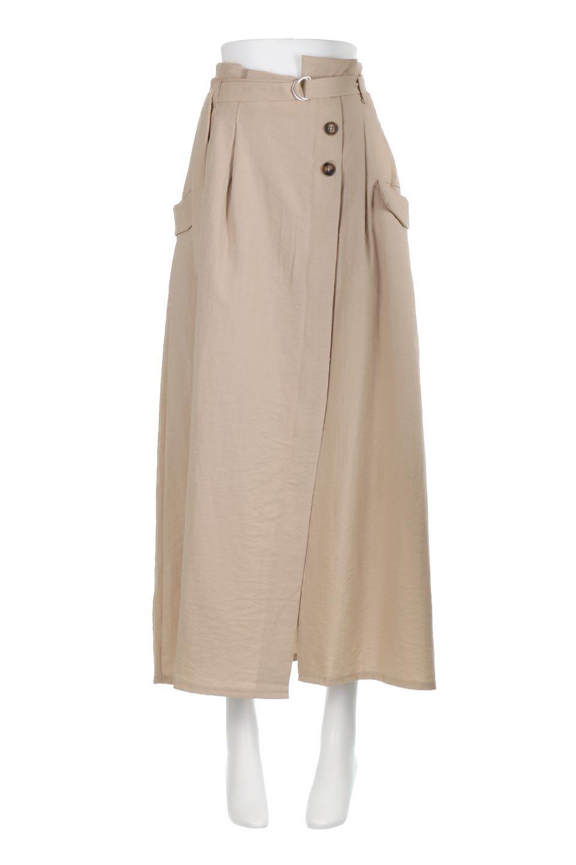 WrappedFlareLongSkirtラップフレア・ロングスカート大人カジュアルに最適な海外ファッションのothers(その他インポートアイテム)のボトムやスカート。気になる旬のディテールたっぷりなラップフレアロングスカート。ウエストマークでバランスが取りやすく、ベルトのエッジを効いたスカート。