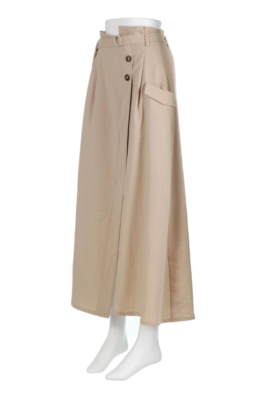 WrappedFlareLongSkirtラップフレア・ロングスカート大人カジュアルに最適な海外ファッションのothers(その他インポートアイテム)のボトムやスカート。気になる旬のディテールたっぷりなラップフレアロングスカート。ウエストマークでバランスが取りやすく、ベルトのエッジを効いたスカート。/main-1