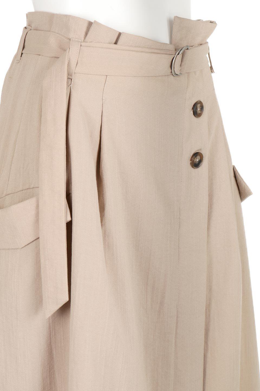 WrappedFlareLongSkirtラップフレア・ロングスカート大人カジュアルに最適な海外ファッションのothers(その他インポートアイテム)のボトムやスカート。気になる旬のディテールたっぷりなラップフレアロングスカート。ウエストマークでバランスが取りやすく、ベルトのエッジを効いたスカート。/main-10