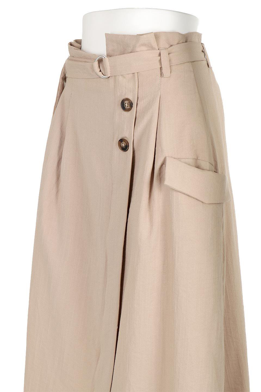WrappedFlareLongSkirtラップフレア・ロングスカート大人カジュアルに最適な海外ファッションのothers(その他インポートアイテム)のボトムやスカート。気になる旬のディテールたっぷりなラップフレアロングスカート。ウエストマークでバランスが取りやすく、ベルトのエッジを効いたスカート。/main-11