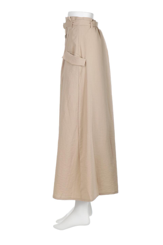 WrappedFlareLongSkirtラップフレア・ロングスカート大人カジュアルに最適な海外ファッションのothers(その他インポートアイテム)のボトムやスカート。気になる旬のディテールたっぷりなラップフレアロングスカート。ウエストマークでバランスが取りやすく、ベルトのエッジを効いたスカート。/main-2