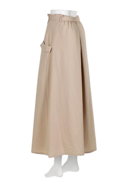 WrappedFlareLongSkirtラップフレア・ロングスカート大人カジュアルに最適な海外ファッションのothers(その他インポートアイテム)のボトムやスカート。気になる旬のディテールたっぷりなラップフレアロングスカート。ウエストマークでバランスが取りやすく、ベルトのエッジを効いたスカート。/main-3