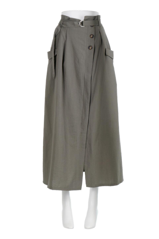 WrappedFlareLongSkirtラップフレア・ロングスカート大人カジュアルに最適な海外ファッションのothers(その他インポートアイテム)のボトムやスカート。気になる旬のディテールたっぷりなラップフレアロングスカート。ウエストマークでバランスが取りやすく、ベルトのエッジを効いたスカート。/main-5