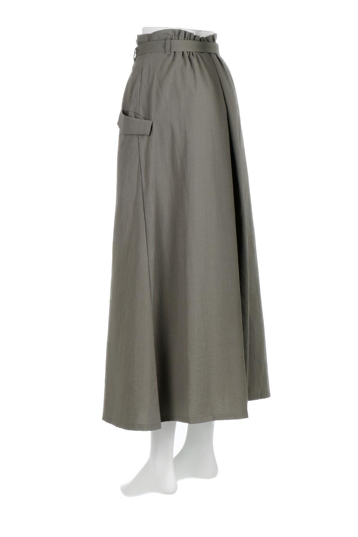 WrappedFlareLongSkirtラップフレア・ロングスカート大人カジュアルに最適な海外ファッションのothers(その他インポートアイテム)のボトムやスカート。気になる旬のディテールたっぷりなラップフレアロングスカート。ウエストマークでバランスが取りやすく、ベルトのエッジを効いたスカート。/main-8